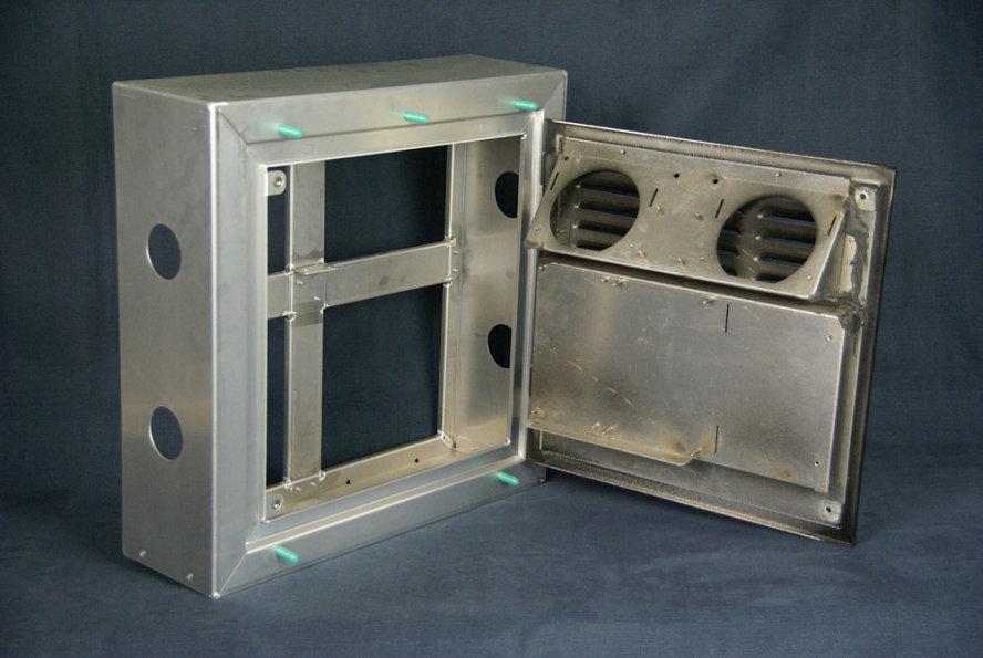 metal cabinet laser welding