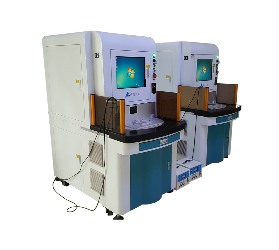 fiber laser marking machine rotating worktable
