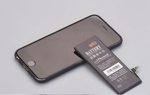 手机电池激光标记