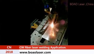 BMM400 钢板激光焊接