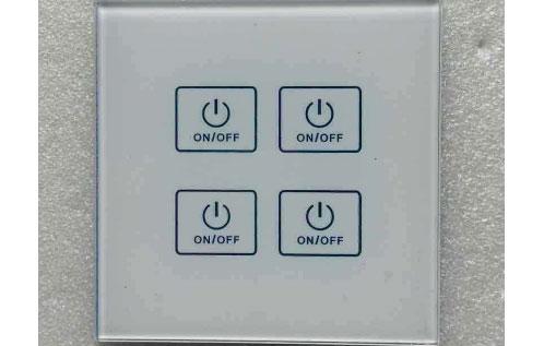 面板開關激光標記