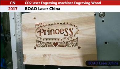 木质工艺品激光雕刻视频