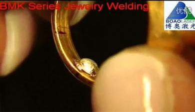 金银首饰焊接修补视频