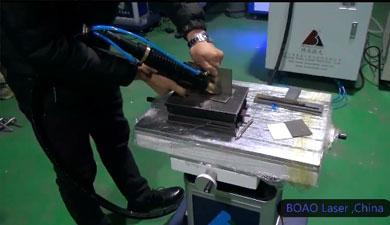 手持金属焊接机视频演示